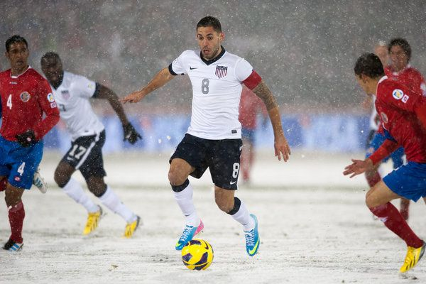 US soccer team | united states 1 costa rica 0 wintry weather and u s team throw blanket ...