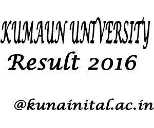 Kumaun University Result 2017 With Images University Result