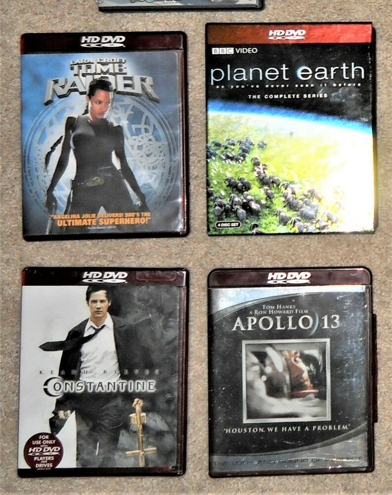 Details about hd dvd constantine new apollo tomb raider