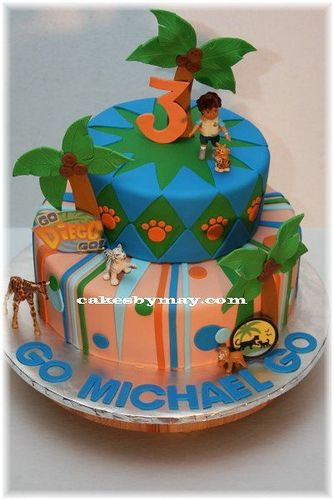 Go Diego Go Cake Birthday Cakes Birthdays And Cake - Go diego go birthday cake