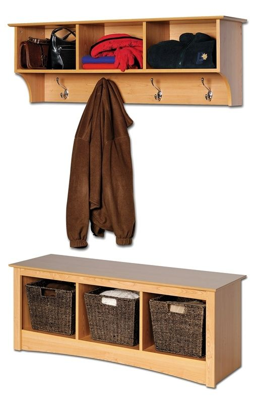 Entryway Wall Mount Coat Rack W Shoe Storage Bench Storage Bench Extraordinary Hanging Coat Rack With Storage