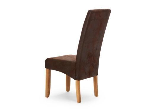 4 st hle esszimmerst hle wildlederoptik neu in nordrhein. Black Bedroom Furniture Sets. Home Design Ideas