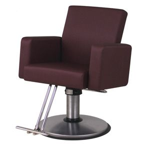 Plush Styling Chair From Belvedere 925 Salon Styling Chairs