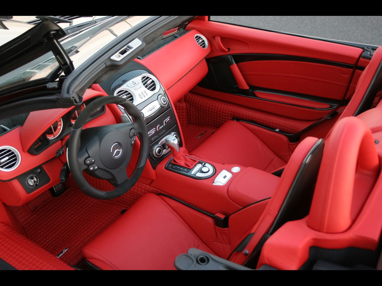 Mercedes Benz slr interior