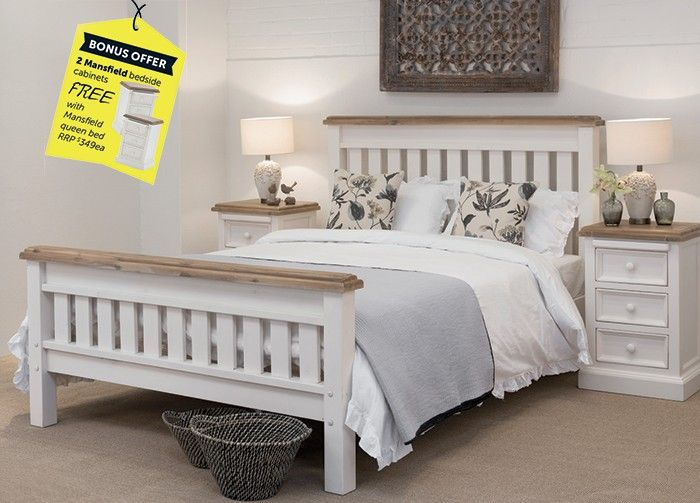 Mansfield Queen Bed From Early Settler   SaleFinder