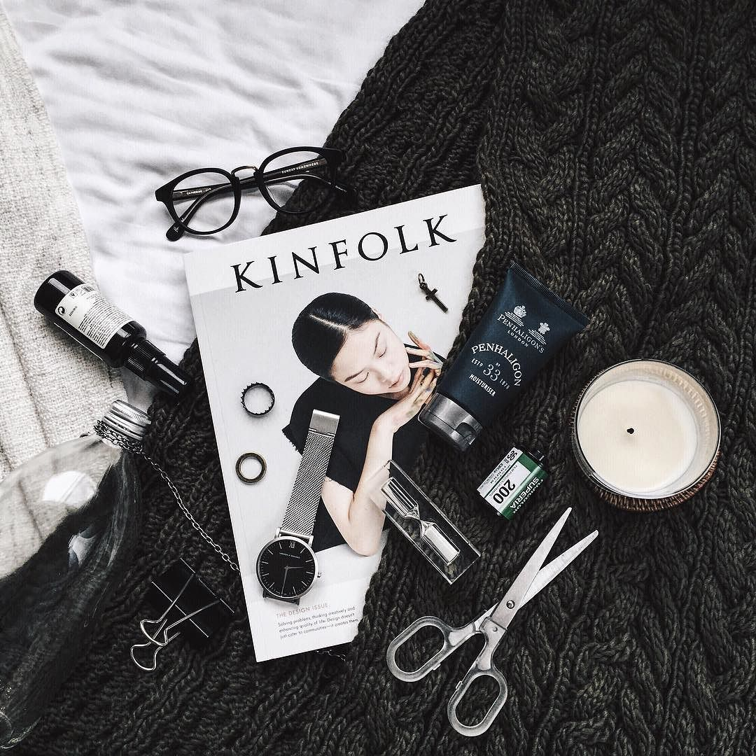 Rainy day remedies [featuring: @kinfolk @penhaligons_london @larssonjennings @kavaldon] by jeffreychung