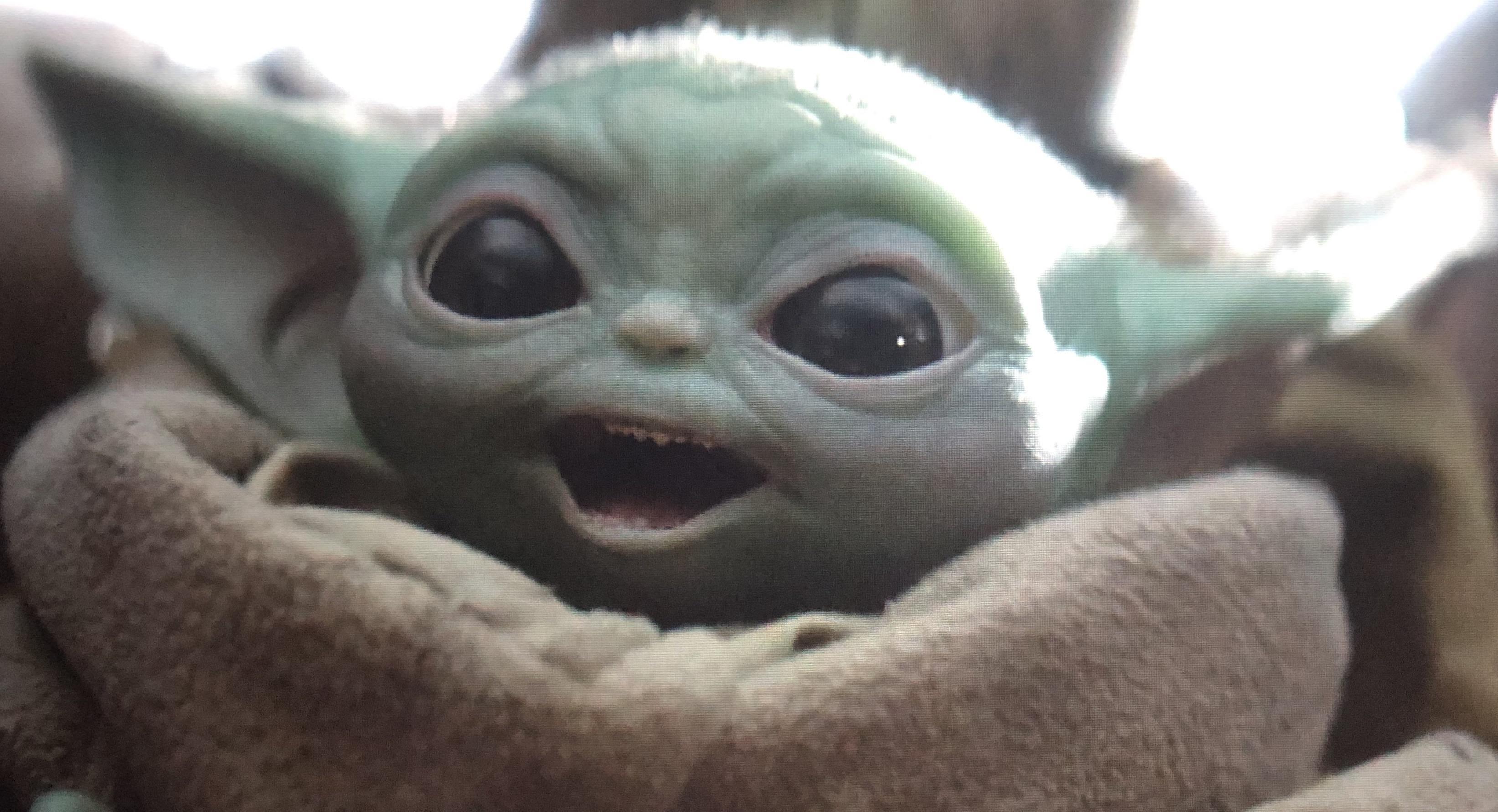 My Face After Realizing Episode 8 Is Live R Babyyoda Baby Yoda Grogu Mandalorian Yoda Wallpaper Yoda