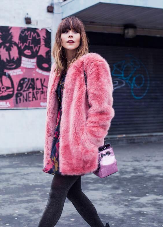 01b9c5aa7e6 25 Faux Fur Coat Look Ideas to Rock Right Now