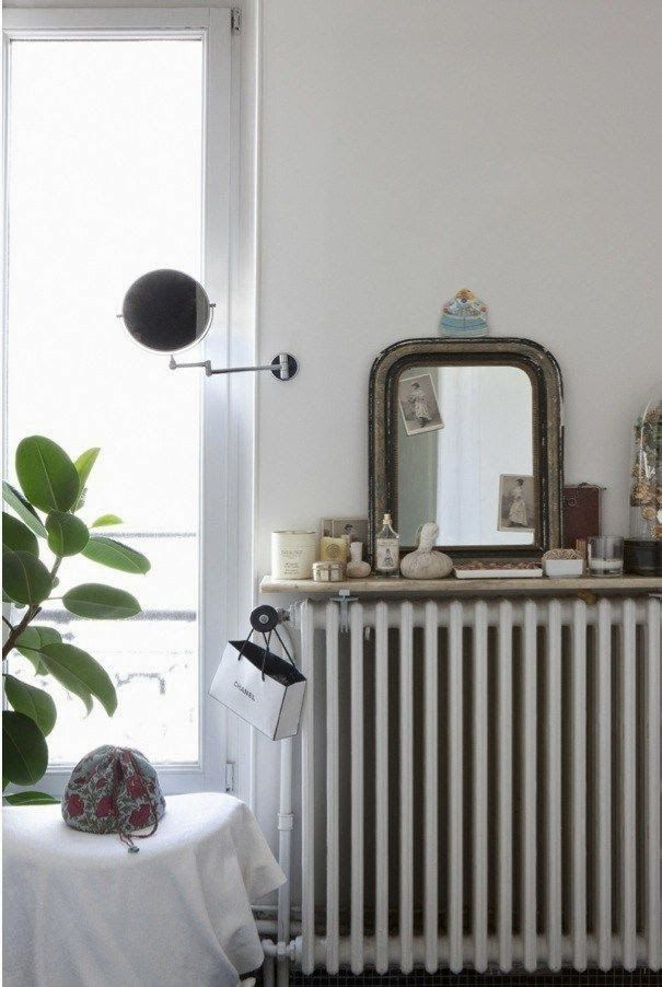 The Lovely Side: 10 Charming Radiator Covers