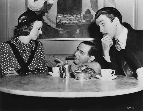 The Shop Around The Corner behind the scenes Margaret Sullavan + James Stewart + Ernst Lubitsch