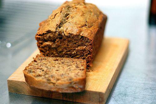 Jacked-Up Banana Bread ~ cinnamon, nutmeg, and bourbon make this one a winner! (vegetarian)