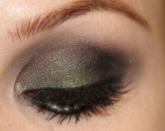 Best Green Smokey Eye Make Up Ideas