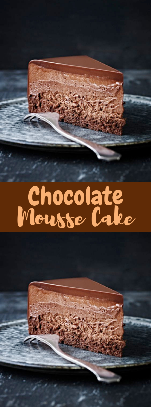 Chocolate Mousse Cake #Chocolate #Cake