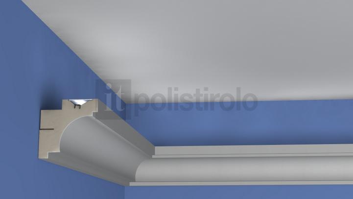 Diffusori luce prezzi profili decorativi e cornici for Cornici per strisce led