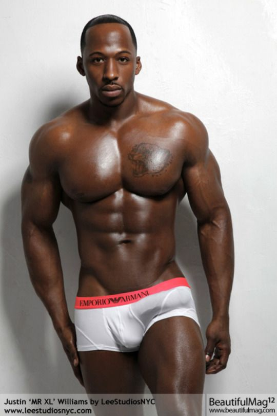 Sexy fat black men