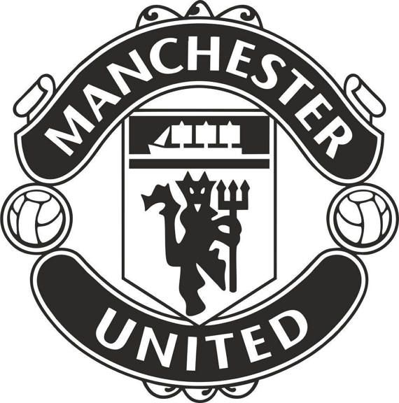 Manchester United F C Badge Wall Art Vinyl Decal Sticker Manchester United Logo Manchester United Football Manchester United