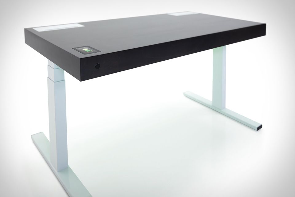 Stir Kinetic Desk Automatically Moves Up And Down At The Touch Of A On