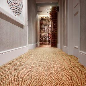 Best Use Herringbone Coir To Lengthen Your Hallway Wall 640 x 480