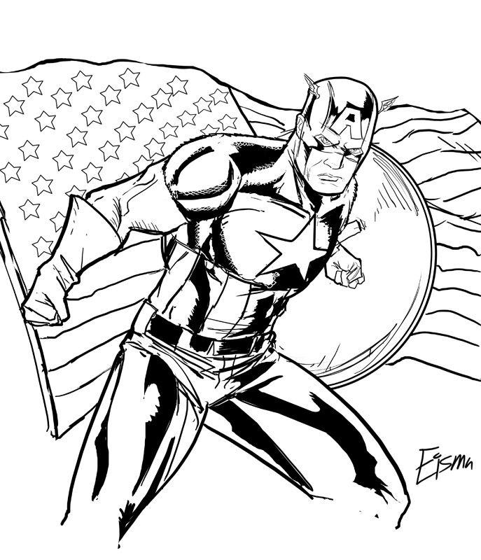 Printable Captain America Coloring Pages | Coloring Me | Desenhos, Desenho  s, Colorir | 800x687