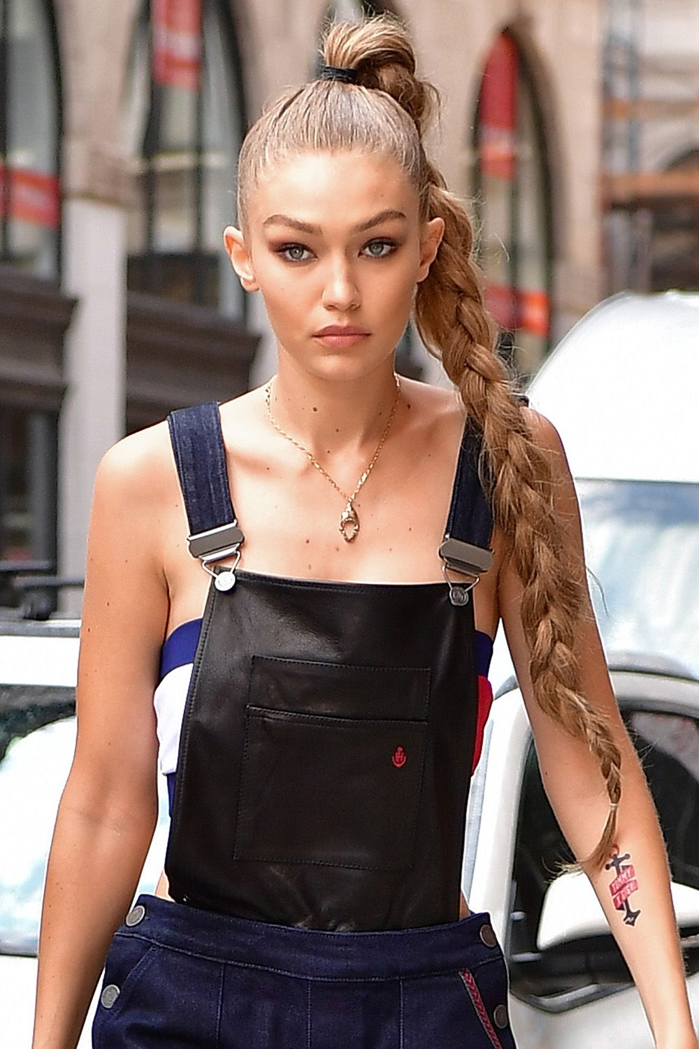 The behind secret gigi hadids short hairstyle forecast dress for everyday in 2019