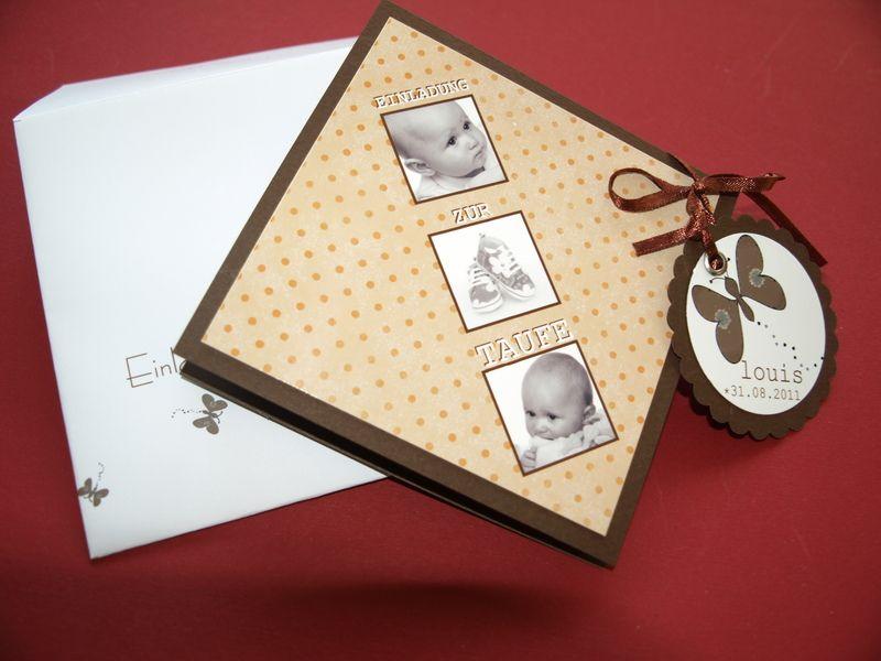10 Ausgefallene Einladungskarten Zur Taufe   Geburt Und Taufe Von  Papierdesign NRW   Einladungskarten