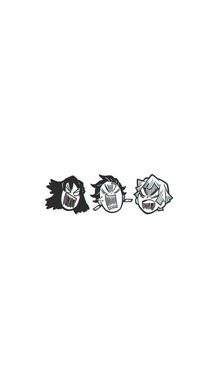 HD wallpaper: Kimetsu no Yaiba, Tanjiro Kamado, Kamado Tanjirō, Zenitsu Agatsuma