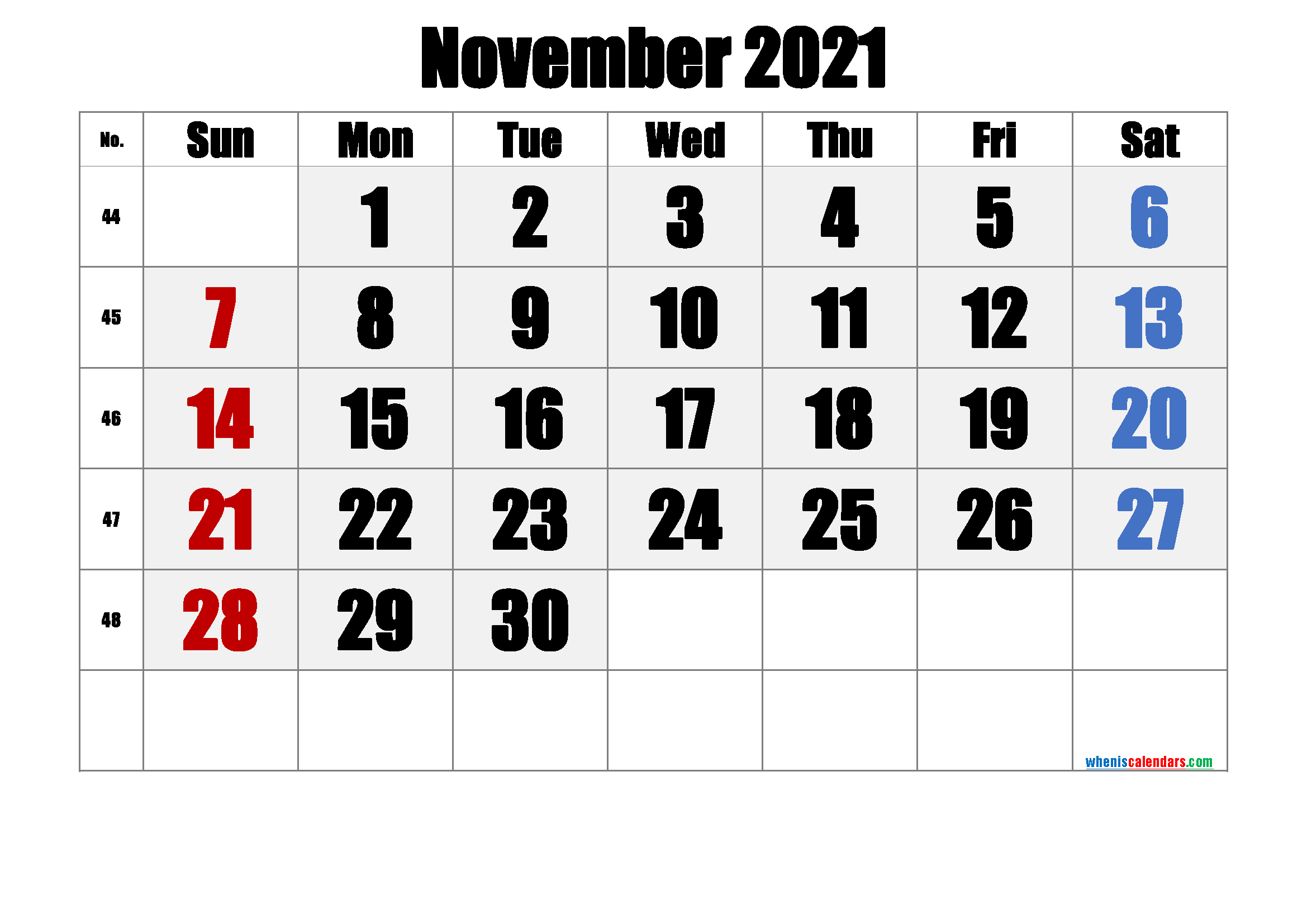 Free Printable November 2021 Calendar Premium In 2020 Calendar Printables June Calendar Printable Printable Calendar Template