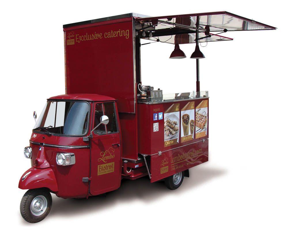 Food Truck Catering - Ape Car | Pinterest | Piaggio ape, Food truck ...