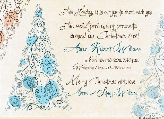 words christmas card teriz