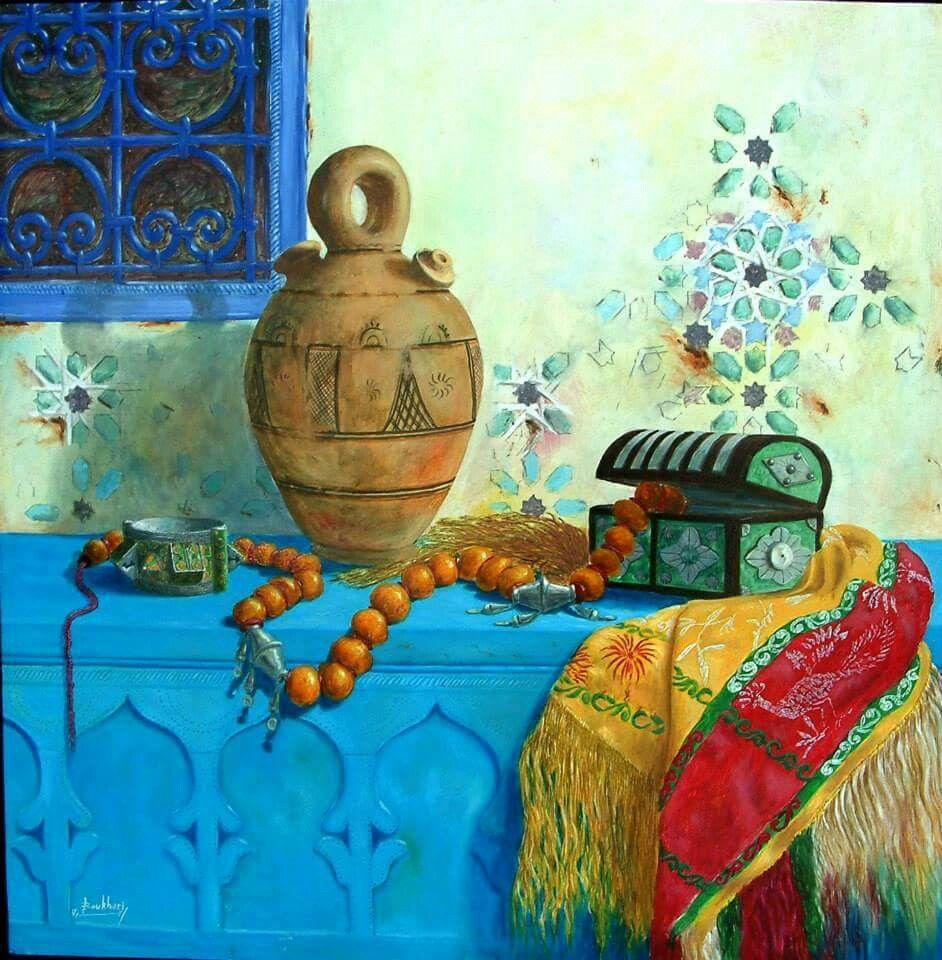 Peinture tunisienne en 2019   Peinture tunisienne, Peinture et Art