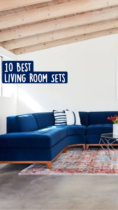 These Living Room Sets Will Inspire A Make Over!