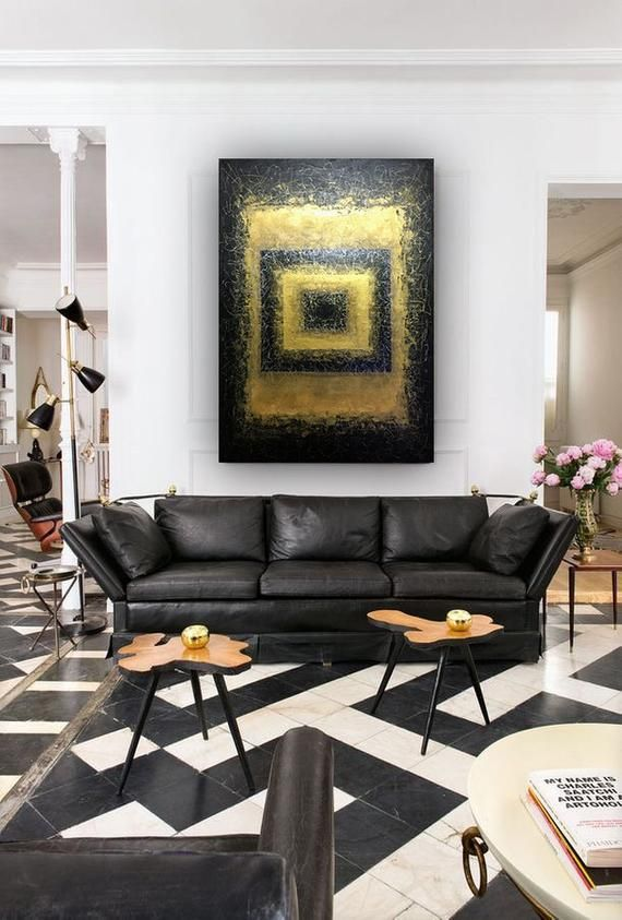 abstract wall art original art acrylic paintings on canvas on modern acrylic paintings for living room id=64841