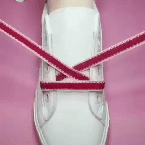 Завязываем красиво шнурочки!