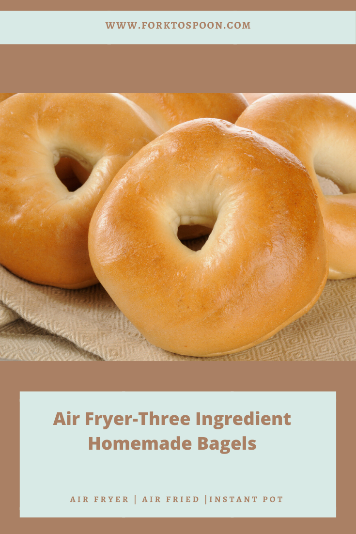 Pin on Air Fryer, Homemade Bagels*