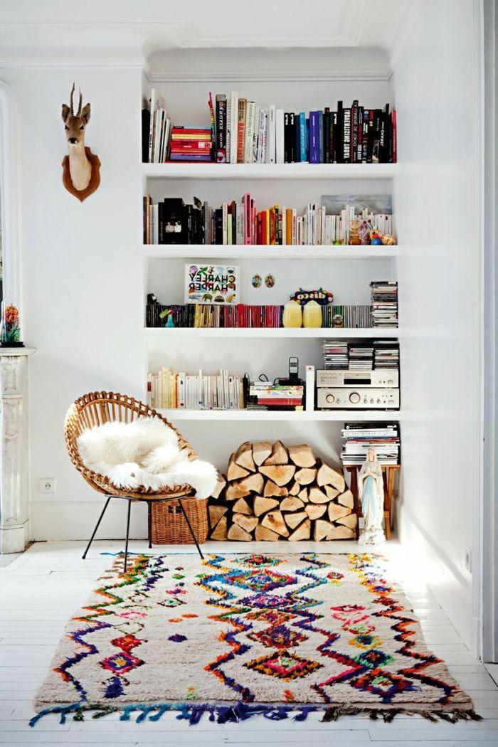 savourer la beaut de tapis berb re en 44 photos d co. Black Bedroom Furniture Sets. Home Design Ideas