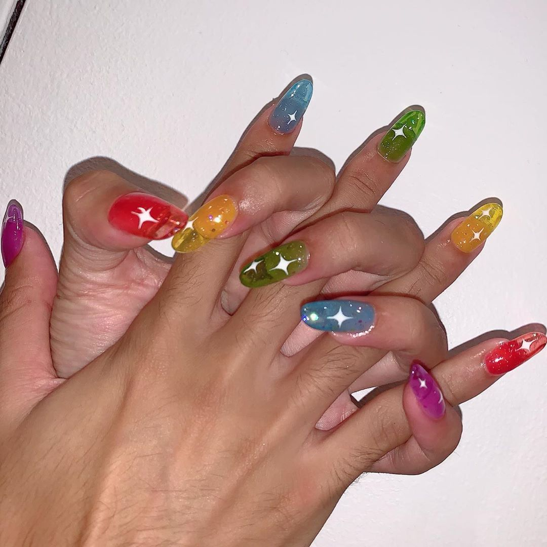 Summer Unique Nail Styles Nail Color Designs Ideas For Exceptional