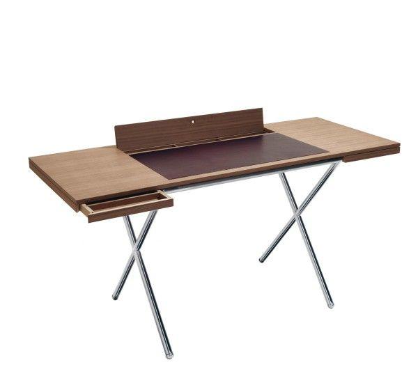 Lema Novelist Desk Walnut Writing Desk Desk Design Writing Desk With Drawers