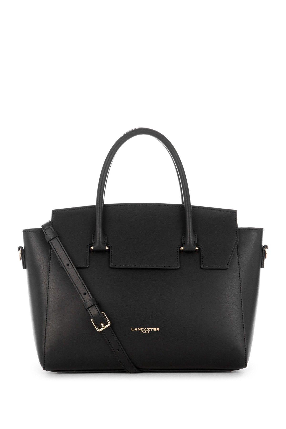 Lancaster Paris Camelia Leather Satchel Leather Satchel Bags Kate Spade Top Handle Bag