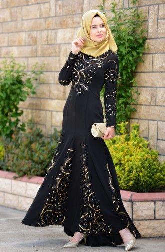 Tesettur Giyim Tesettur Abiye Abaya Tarzi The Dress Islami Moda