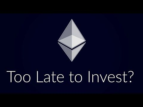 Is it late to invest in cryptocurrency