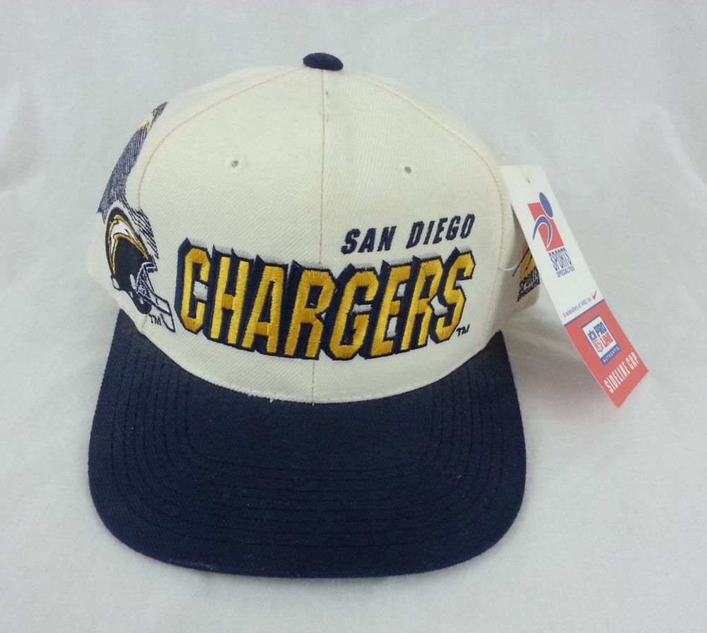 2a804a3a153e33 Vintage San Diego Chargers Snapback Sports Specialties NFL Hat NEW #chargers  #sandiego #sandiegochargers