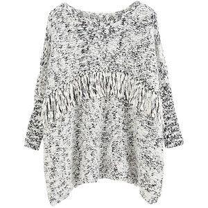 Chicnova Fashion Vintage Tassels Loose Fit Sweater