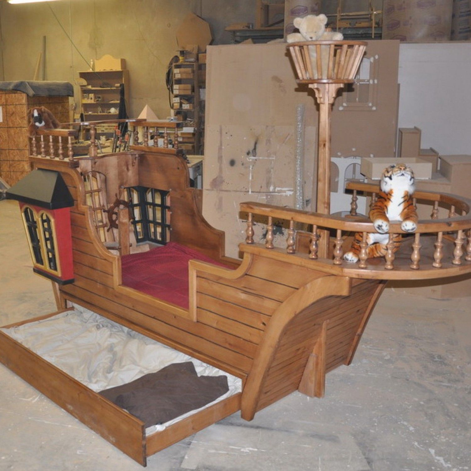 Pirate Ship Playhouse Pearl Pirate Ship Bed With Trundle