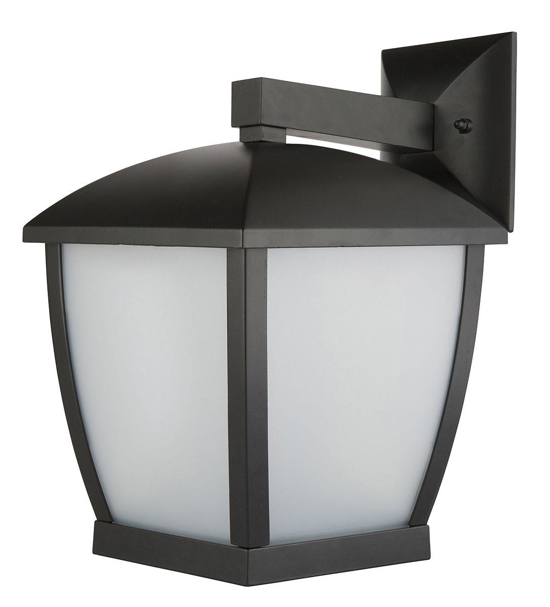 Outdoor Wall Light Accessories: Ashby Modern Coach Wall Light In Black