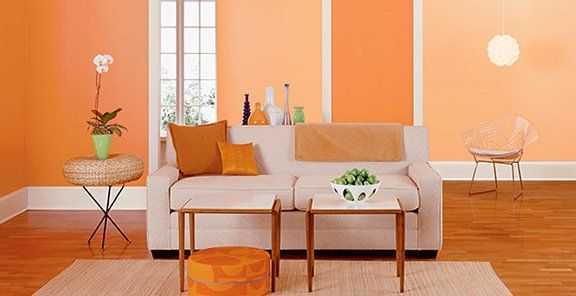 Pale Orange Paint how the paint color on your walls can change your mood