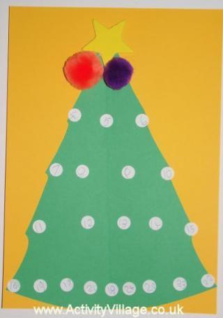 Christmas Tree Advent Calendar Anni Ideas Pinterest Advent