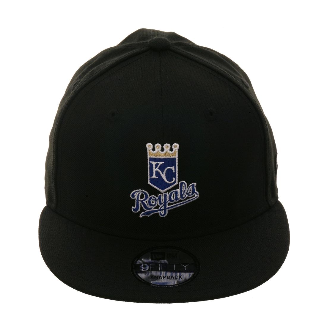 new photos f7ef8 d0a6d New Era 9Fifty Kansas City Royals Snapback Hat - Black,  14.98 - Save  15.01