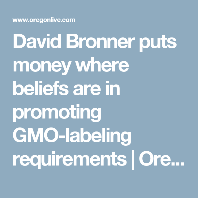 David Bronner Puts Money Where Beliefs Are In Promoting