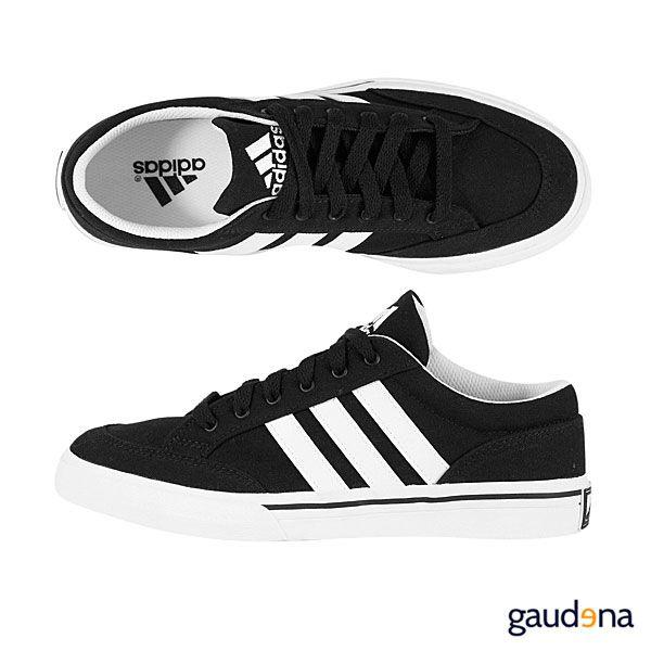zapatos adidas negros hombre