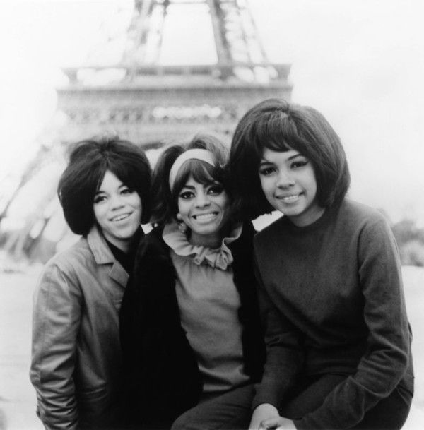 The Supremes In Paris 1960s Music Photo Vintage Black Glamour